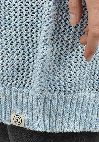 DESIRES Lia Knit - Cardigan da Donna Sky Blu M. (1025M)