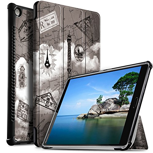 IVSO Huawei MediaPad M5 10.8 Hülle, Ultra Schlank Ständer Slim zubehör Schutzhülle perfekt geeignet für Huawei MediaPad M5 10.8 Zoll 2018 Modell Tablet PC, CH-07