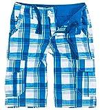 Rock Creek Herren Karoshorts Bermuda Hose CAGO-Shorts Sommer Hose Kurz Shorts Herrenshorts H-158 XL Blue5