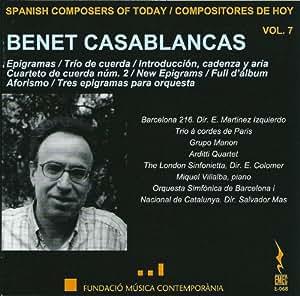 Casablancas:Spanish Composers