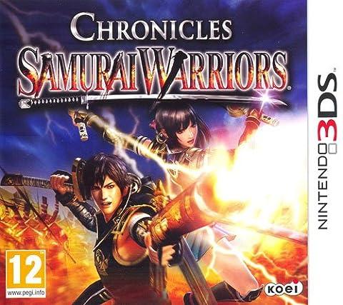 Jeu samurai warriors: chronicles 3ds 3ds