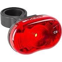 Smart Unisex – Erwachsene Star Batterierücklicht, schwarz/rot