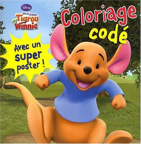 Mes amis Tigrou et Winnie : Coloriage codé