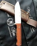 Messer Miguel Nieto YESCA 1049-V Palo violeta - Werkzeug für Jagd, Angeln, Überleben und Bushcraft - Hergestellt in Albacete