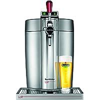 Krups & Heineken Krups VB700E00 Machine Pression Beertender Loft Edition Pompe Tireuse à bière Fût 5L Argent Chrome