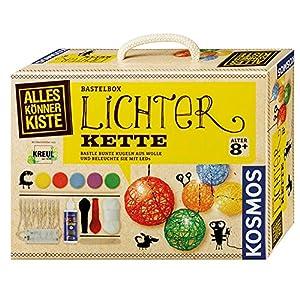 KOSMOS AllesKönnerKiste Lichterkette zum Selbermachen – DIY-Bastelset für Mädchen und Jungen ab 8 Jahren – das ideale…