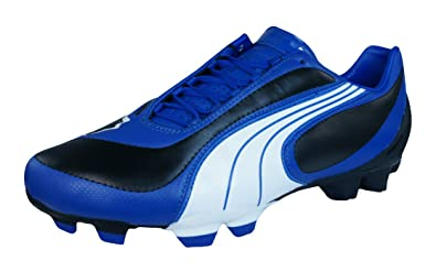 new style 06b8c 20df3 Puma V3.08 i FG Mens Leather Football Boots   Cleats-Black-6