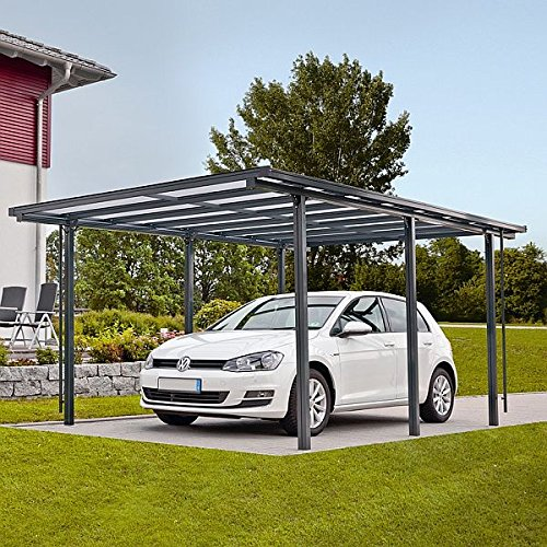 favorit aluminium carport bausatz ni96 kyushucon. Black Bedroom Furniture Sets. Home Design Ideas