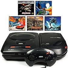 SEGA Mega-CD Konsole inkl. Zubehör und mit 5 Kultspielen