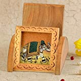 #7: Shop Hatke Now New Year Gift Home Decor Gemstone Painting Wooden Mobile Stand Gift -124