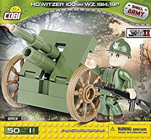 COBI-2153Small Army Howitzer 100mm WZ. 1914/19p