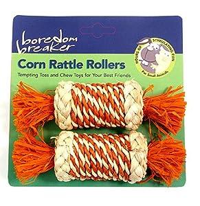 (Boredom Breaker) Corn Rattle Roller for Rabbits and Small Animals[34334]