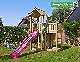JUNGLE GYM Spielturm Jungle Mansion mit Rutschstange, Gesamtmaße (B/T/H): 220/430/320 cm