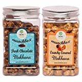 #8: New Tree Dark Chocolate Makhana And Crunchy Caramel Makhana Combo
