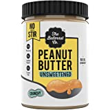 The Butternut Co. Peanut Butter Unsweetened No Stir, Crunchy 1KG (No Oil Separation^, No Added Sugar, High Protein)