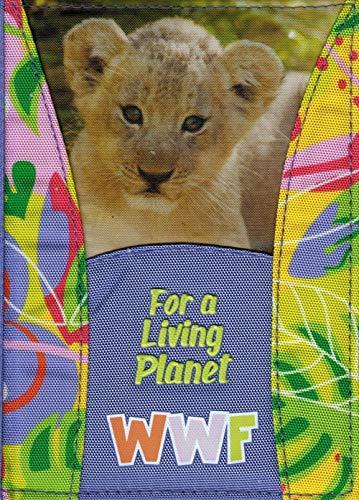 Diario scolastico WWF Jungle 2019/2020 - copertina stoffa 12 Mesi