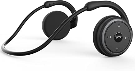 LinkWitz Marathon 2 - Cuffie Bluetooth Senza Fili Pieghevoli con Stereo HiFi e Microfono Integrato, per Tutti i Dispositivi, Nero