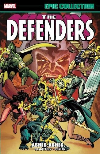 Defenders Epic Collection: Ashes, Ashes (Defender Novel Graphic)
