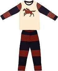 Ventra Boys Nightwear Horse OffWhite
