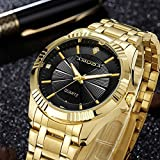 AMUDA Gold Watch Men Watches Top Brand Luxury Famous 2017