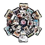 iBaste Kreative Explosion Geschenkbox, Love Memory DIY Fotoalbum als Geburtstagsgeschenk und Überraschung Box