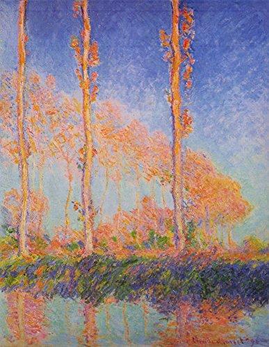 Das Museum Outlet-Claude Monet-Poplars bei Philadelphia-Leinwand (61x 81,3cm)