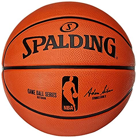 Spalding NBA Gameball Replica out 83-044Z Ballon de basket Taille 7