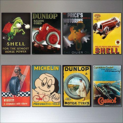 8-vintage-auto-motor-adverts-fridge-magnets-set-of-8-vintage-fridge-magnets