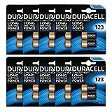 Duracell Ultra Kamera-Batterien (123 / 123A / DL123A / CR123A, 3V), 20 Stück