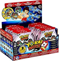 Yo-Kai Series 2 (Red Pack) Case of 24 Medal Mystery Bags;Includes 24 Blind Bags (72 Random Medals total);Each medal shows a Yo-Kai character;Kids can scan medals with the Yo-kai Watch Land app;Ages 4 & up