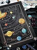 Das Universum, 14-karätiges Kreuzstich-Set, 200x 125Stitch, 46* 22.3cm Ägyptische Baumwolle Gezählt Scenery Kreuzstich Kits