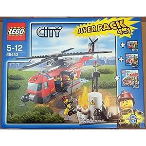 LEGO City Super Pack 4 in 1 66453 OSSIA 60010 + 60000 + 60001 + 60003 5702015068505 LEGO