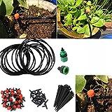 ECYC 5m Automatischer Gartentropfkopfverbinder für Flowspot Gartenpflanzenbewässerung mit Schlauch
