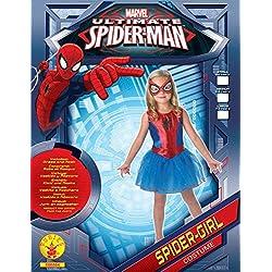 Disfraz para niña Rubie's, de Marvel, oficial, Spidergirl, grande