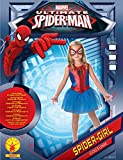 Spider-Girl - Spiderman - enfants Costume de déguisement - Grand - 128cm