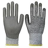Melodycp Gartenhandschuhe Garden Tools Hersteller kaufen 5 Grade Cut-Proof Handschuhe Green Gardening Tools Stab Handschuhe L