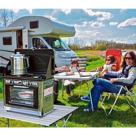 Camp Chef Edelstahl tragbare Outdoor Ofen ideal für Camping und Outdoor