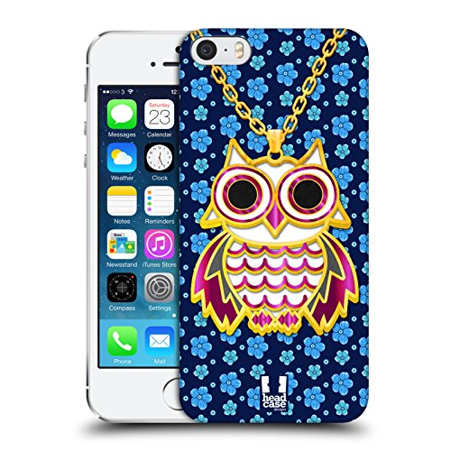 Head Case Designs Highcross Stampa A Croce Cover Morbida In Gel Per Apple iPhone 7 / iPhone 8 Blu