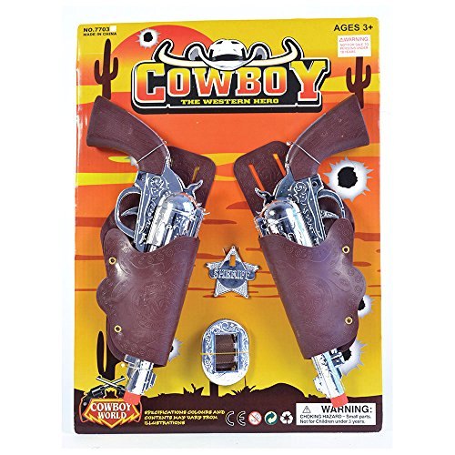 Bristol Novelty ba365Cowboy Holster/Gun Set, One size