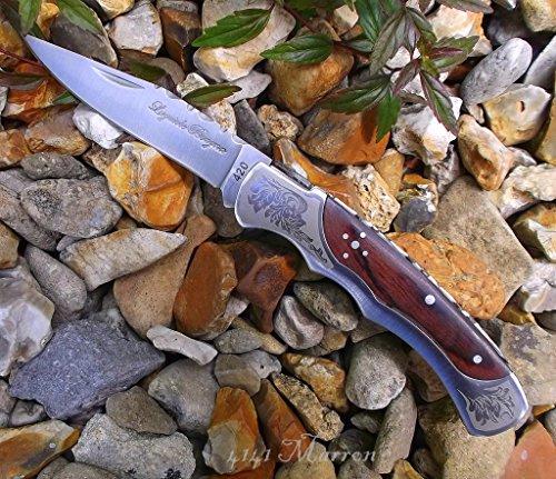 Navaja{4141} Laguiole 'Baroque' 10 cm Blade hechos