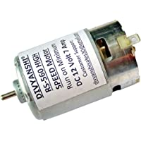 RS-560 High Speed 12 Volt 21200 RPM Motor for Cutting & Drilling
