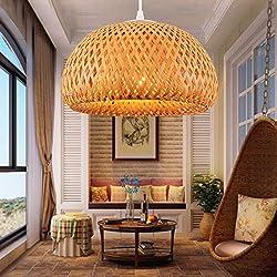 Lámpara de bambú, outer diameter 430* height 220mm
