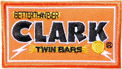 r Twin Bars Milch Schokolade Peanut Butter Bar Logo Symbol Jacke T-Shirt Patch Sew Iron on gesticktes Schild Badge Kostüm Kleidung (Peanut Butter Kostüme)