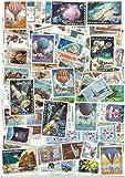 Colección de sellos usados de Laos: 100 sellos diferentes.