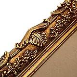 Prunk Bilderrahmen Antik Gold 60×50/ 30×40 cm (Vintage) Im Retro-Vintage look durch Handarbeit hergestellt für Künstler, Maler. Idealer Gemälde-Rahmen Barockrahmen für Ausstellungen STAR-LINE® - 4
