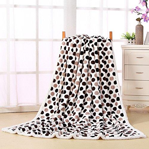 coperta/ Agnello coperta/ doppie spesse coperte/Auto aria condizionata coperta/ da Barclays piumino/ lino Copriletto coperta-D 80x120cm(31x47inch)