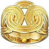 Lara Bohinc Stenmark Solar Ring aus Sterlingsilber vergoldet mit Gelbgold, Sonstige, L