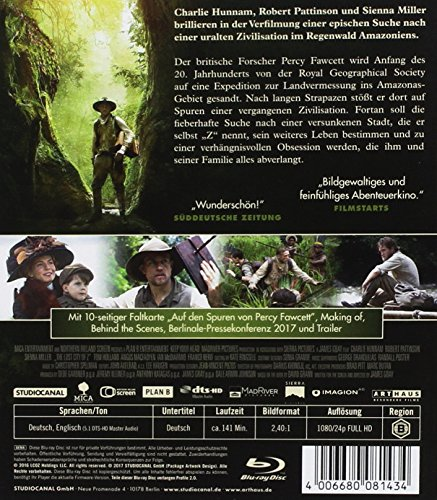 Die versunkene Stadt Z [Blu-ray] - 2