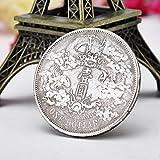 Bluelover Dragon Chinois Antique Pièces Fausses Pièces De Monnaie Dollar En Argent