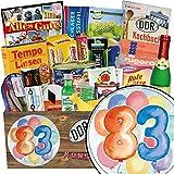 Geburtstag Set 83 Geschenke witzig | Geschenkideen | Spezialitätenbox | Ostalgie Geschenkset | GRATIS DDR Kochbuch